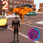 Immortal Flame Tornado Hero Vegas Crime Vice Sim 2 icon