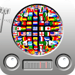 World radio FM wireless icon