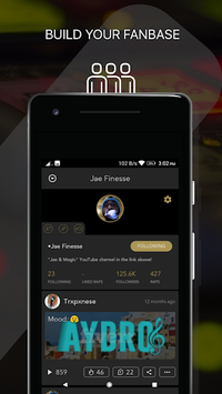 Rapchat - Rap Music Studio with Auto Vocal Tune APK screenshot 1