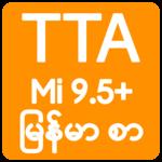 TTA MI Myanmar Font 9.5 to 10 icon