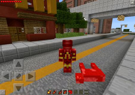 Mod for Minecraft Ironman APK screenshot 1