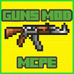 GUNS Mod for mcpe for pc icon