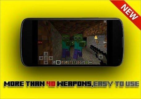 GUNS Mod for mcpe APK screenshot 1