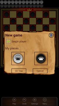 Spanish Checkers - Online APK screenshot 1