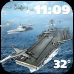 3D Battleship Weather Widget FOR PC