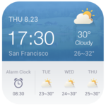 Alarm Clock Weather Widget FOR PC
