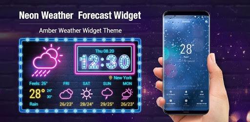 Sense Flip clock weather forecast ⛈⛈ pc screenshot