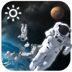 3D Outer-space Weather Widget FOR PC