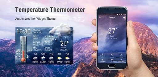 Weather forecast app for Android phone☀️ pc screenshot
