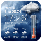 Weather forecast app for Android phone☀️ APK icon