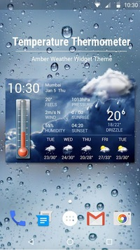 Weather forecast app for Android phone☀️ APK screenshot 1