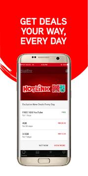 Hotlink RED APK screenshot 1