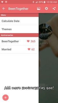 Been Together (Ad) - Couple D-day APK screenshot 1
