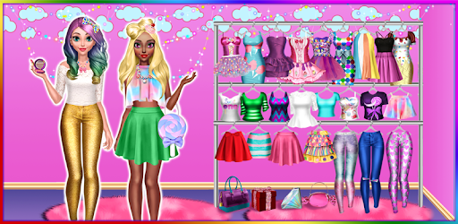 Download Candy Fashion Dress Up & Makeup Game PC