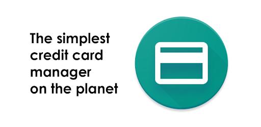 Credit Card Manager pc screenshot