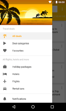 Cheap Hotels & Vacation Deals apk screenshot 1