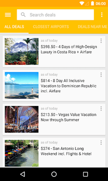 Cheap Hotels & Vacation Deals apk screenshot 2