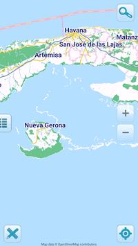 Map of Cuba offline APK screenshot 1