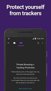Firefox Browser fast & private APK screenshot 1