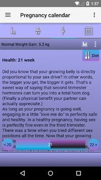 Pregnancy Calendar APK screenshot 1