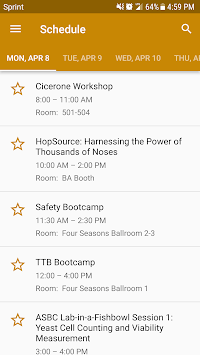 Craft Brewers Conference 2019 APK screenshot 1