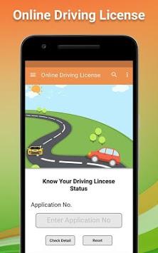 Online indian Drivning Licence Apply APK screenshot 1