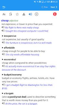 Longman Advanced American Dictionary APK screenshot 1
