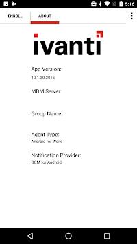 Ivanti AE Agent APK screenshot 1