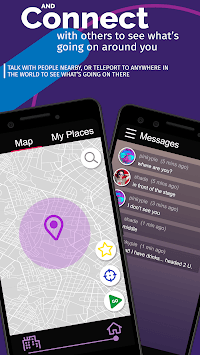 PROX CHAT ROOMS - Find people places events nearby APK screenshot 1