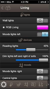 TELETASK iSGUI V2.6 APK screenshot 1