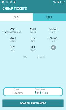 Cheap Tickets Online APK screenshot 1