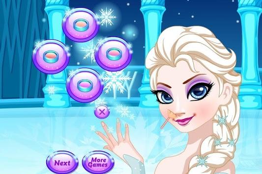 Ice Queen Beauty Salon APK screenshot 1
