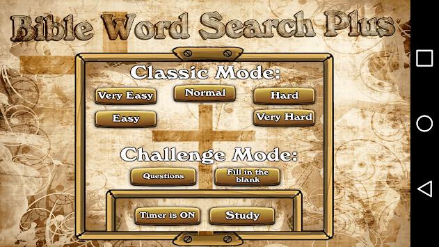 Bible Word Search Plus APK screenshot 1