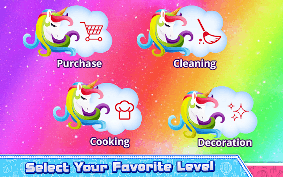 Rainbow Unicorn Cake Cooking APK screenshot 1