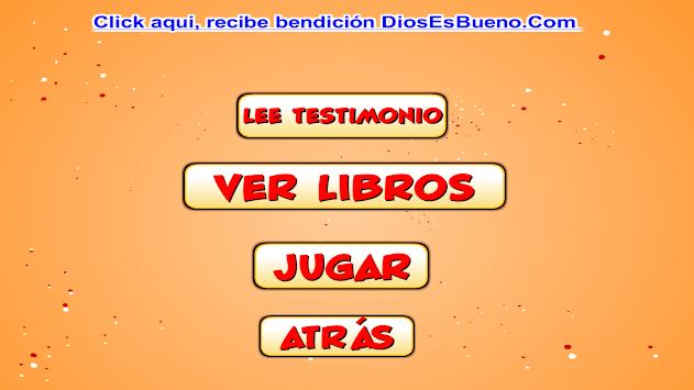 Aprender libros de la Biblia APK screenshot 1