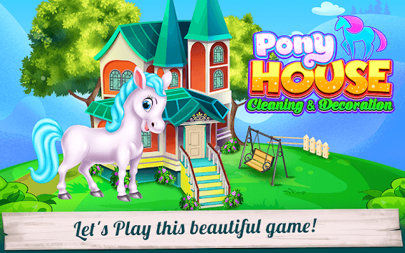 Pony House Cleaning and Decoration APK screenshot 1