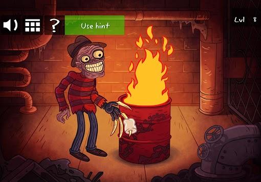 Troll Face Quest Horror 2: 🎃Halloween Special🎃 APK screenshot 1
