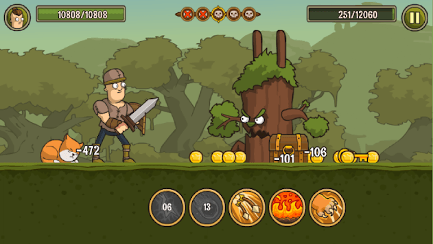Senya and Oscar: The Fearless Adventure. APK screenshot 1