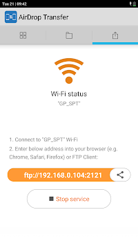 AirDrop & File Transfer APK screenshot 1
