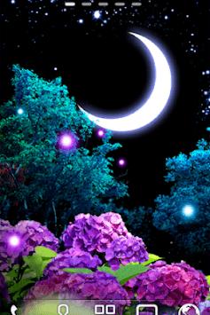 Ajisai-Firefly LWP Trial APK screenshot 1