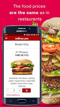 Menu.am — restaurant food delivery APK screenshot 1