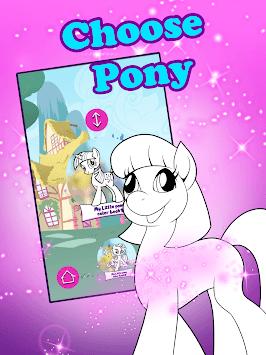 Coloring Book For Unicorn Pony APK screenshot 1
