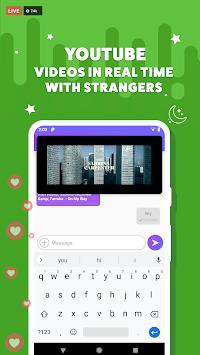 stranger chat, anonymous chat no login :Blindmatch APK screenshot 1