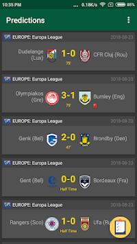 Bet Scanner Football APK screenshot 1