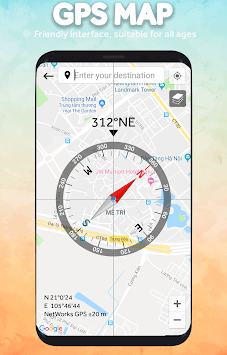 GPS Compass Navigation APK screenshot 1