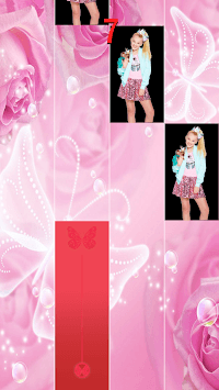 Jojo Siwa Piano Tiles game APK screenshot 1