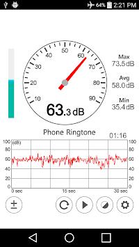 Sound Meter - Decibel APK screenshot 1