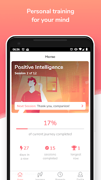 Mindshine - Personal Training for the Mind APK screenshot 1