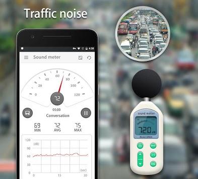 Sound Meter - Decibel meter & Noise meter APK screenshot 1