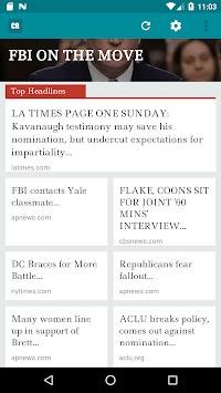Conservative Report APK screenshot 1